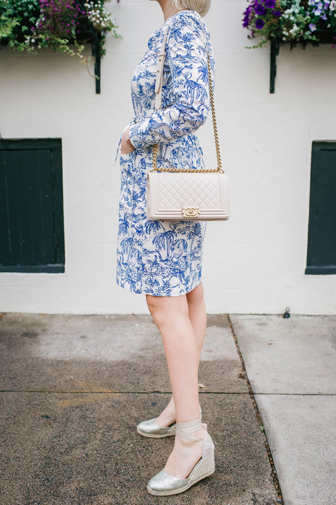 TORY BURCH SAFARI PRINTED SHIRTDRESS | CHARLESTON, SOUTH CAROLINA