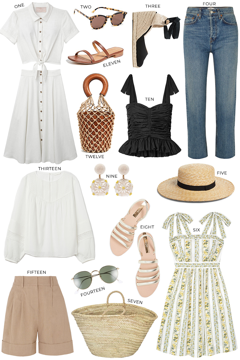 PROVENCE PACKING LIST + OUTFIT INSPIRATION