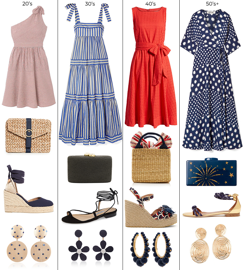 AT ANY AGE // 4TH JULY INDEPENDENCE DAY STYLE OUTFIT IDEAS