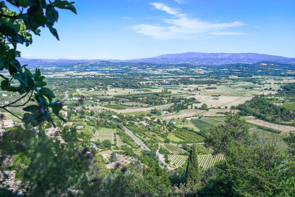 View from Gordes, France
