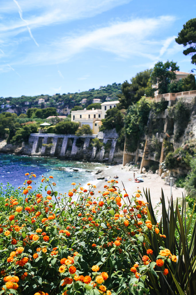 Beaches on Saint-Jean-Cap-Ferrat, France