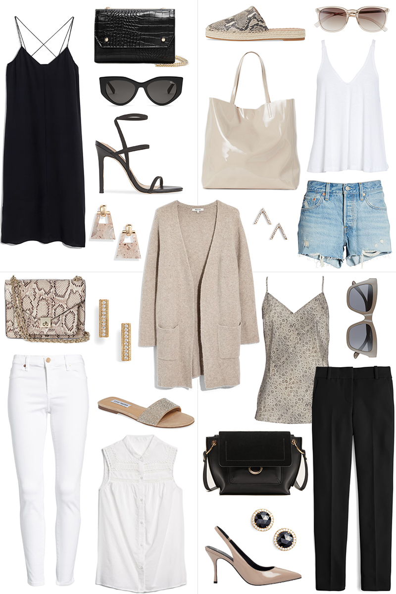 ONE PIECE FOUR WAYS // NEUTRAL CARDIGAN