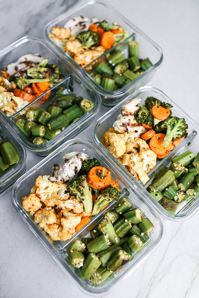 EASY, HEALTHY RECIPES FOR PORTION CONTROL CONTAINERS