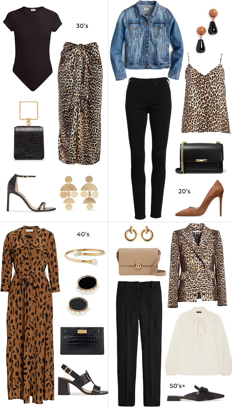 STYLING LEOPARD PRINTS AT ANY AGE