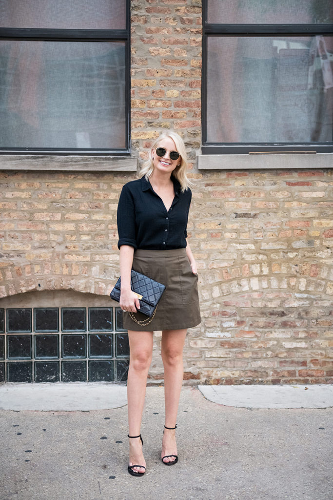 Late Summer, Early Fall Date Night Outfit Ideas | Merritt Beck, Dallas Fashion Blog