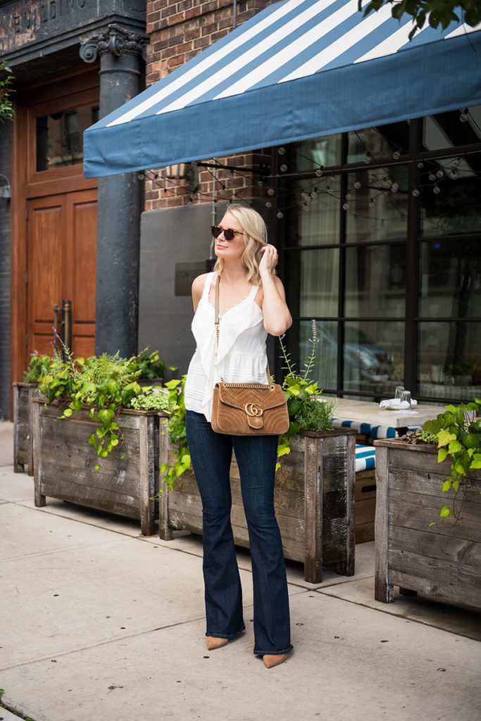 3.1 Phillip Lim Pearl Trim Cami // Merritt Beck, Dallas Style Blogger