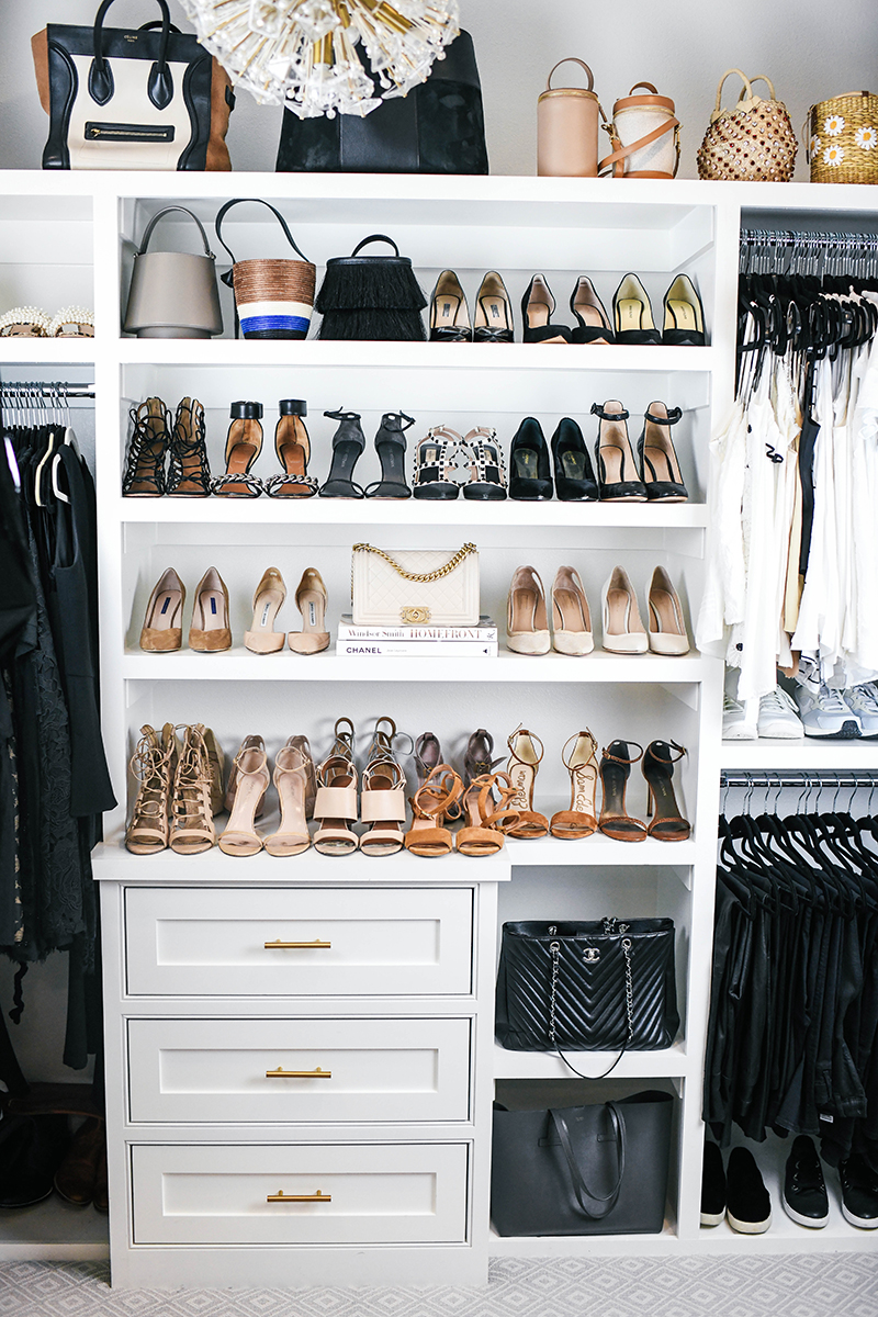 Tips for Organizing + Cleaning out your Closet