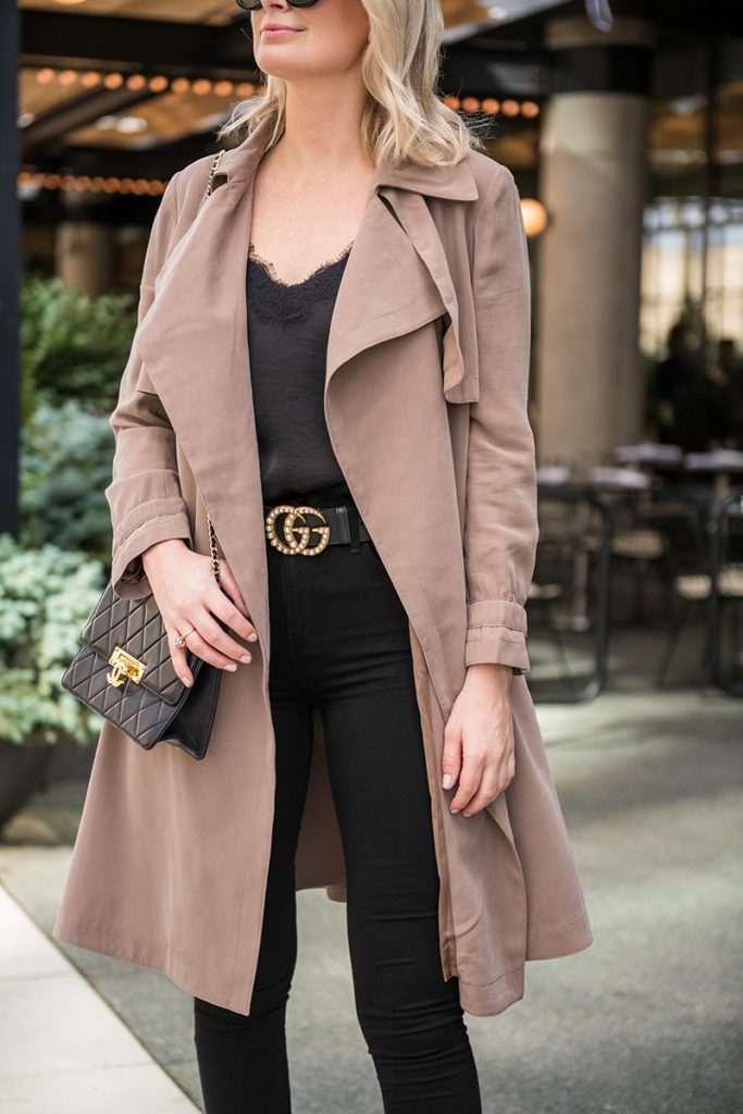 Styling Black and Brown Together | Fall Outfit Idea
