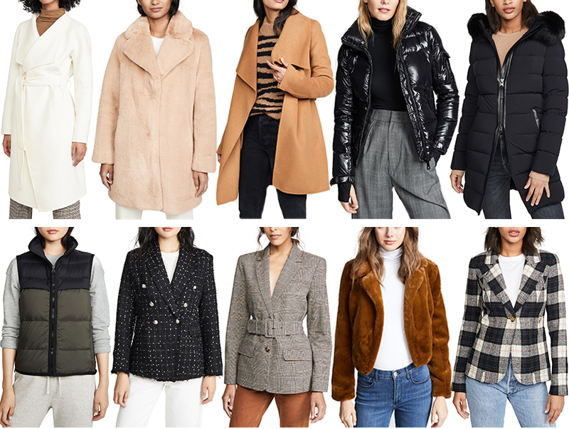 BEST SHOPBOP SALE COATS & JACKETS