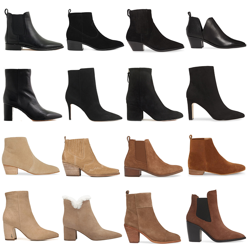 BEST ANKLE BOOTS UNDER $250 // FALL/WINTER 2019