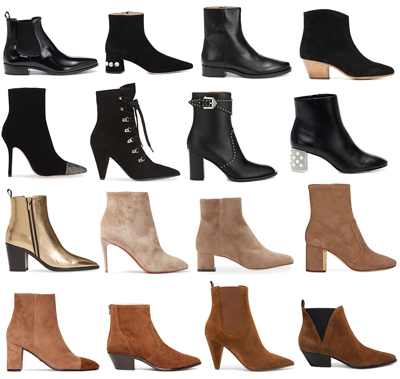 BEST ANKLE BOOTS OVER $250 // FALL/WINTER 2019