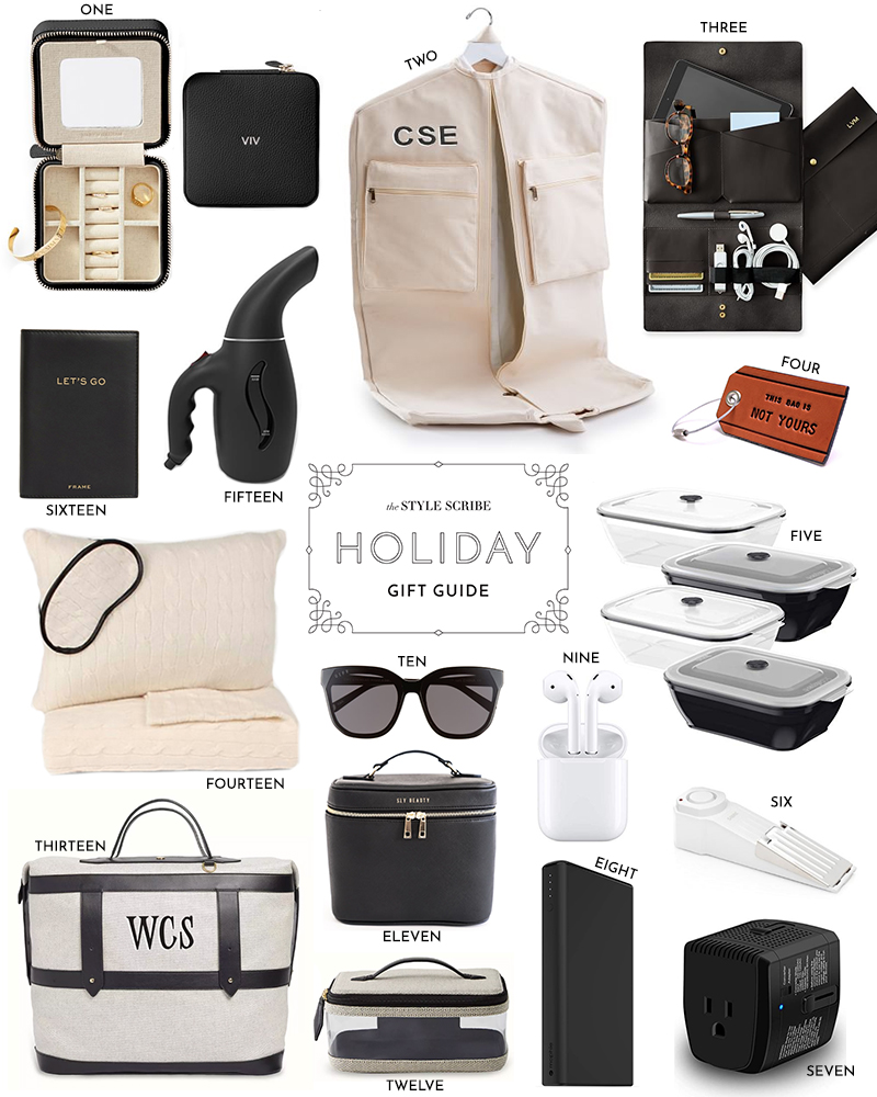 HOLIDAY GIFT GUIDE // FOR THE TRAVELER JET SETTER