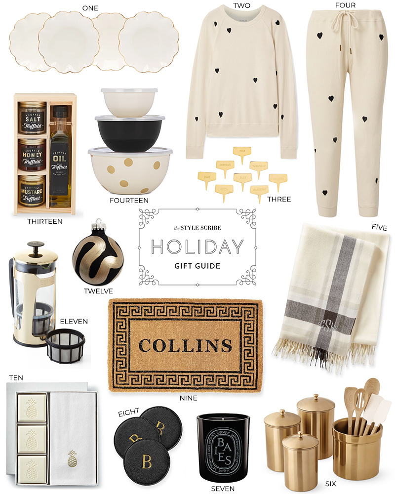HOLIDAY GIFT GUIDE // FOR THE HOMEBODY/HOSTESS