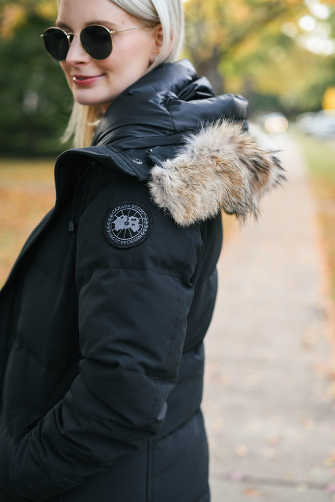 CANADA GOOSE BLACK LABEL SHELBURNE DOWN PARKA