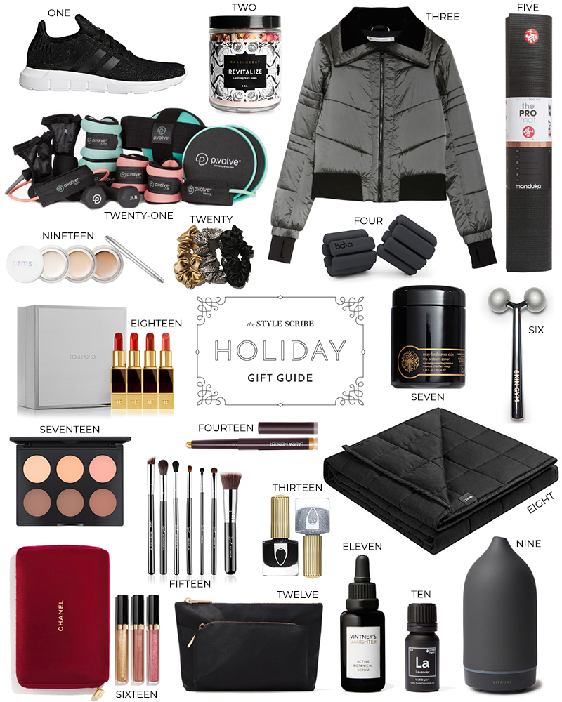2019 HOLIDAY GIFT GUIDE // BEAUTY, FITNESS AND WELLNESS