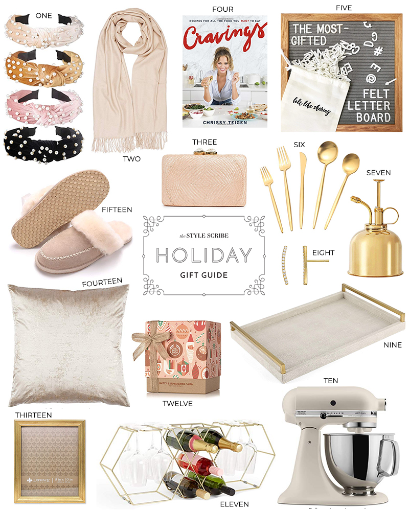HOLIDAY GIFT GUIDE // LAST MINUTE PRESENT PICKS FROM AMAZON