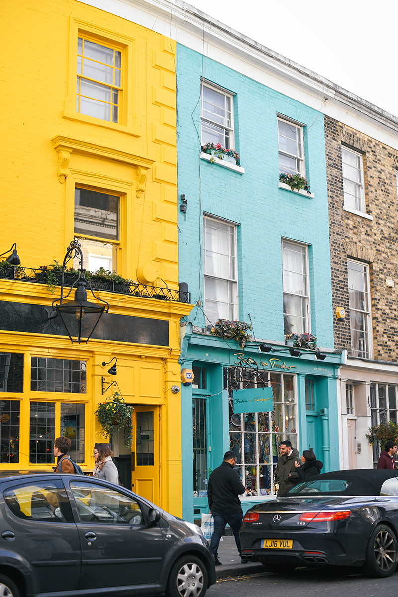 Notting Hill London: PHOTOS FROM LONDON, PART ONE // NOTTING HILL