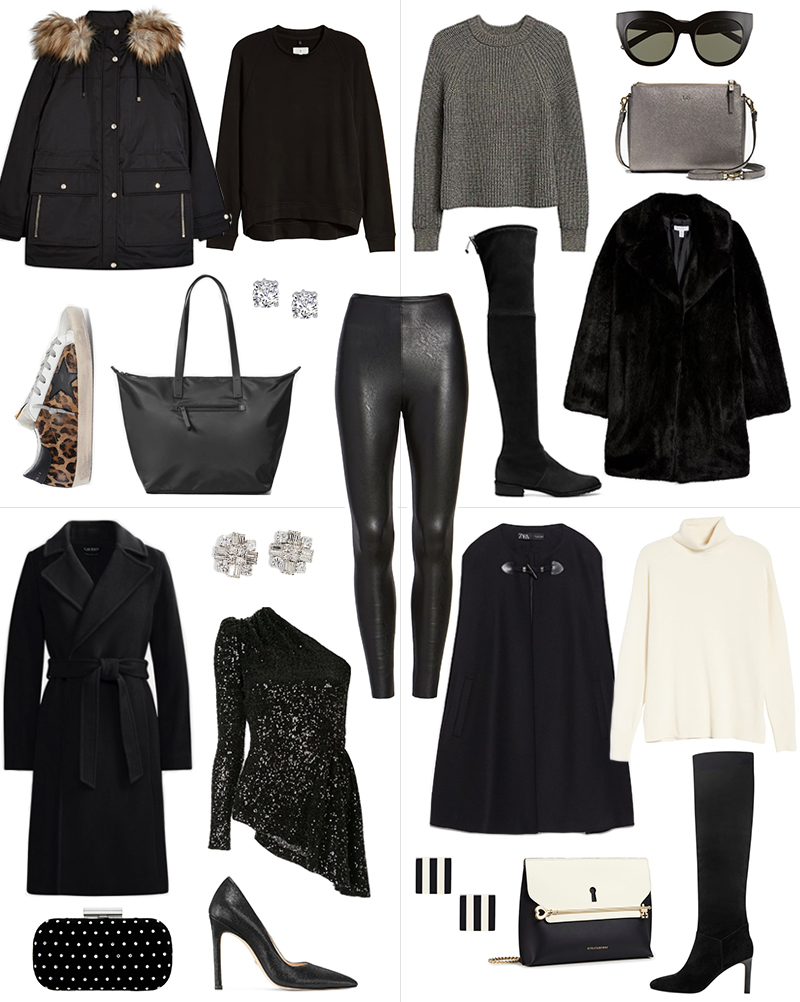 FAUX LEATHER LEGGINGS STYLED FOUR WAYS