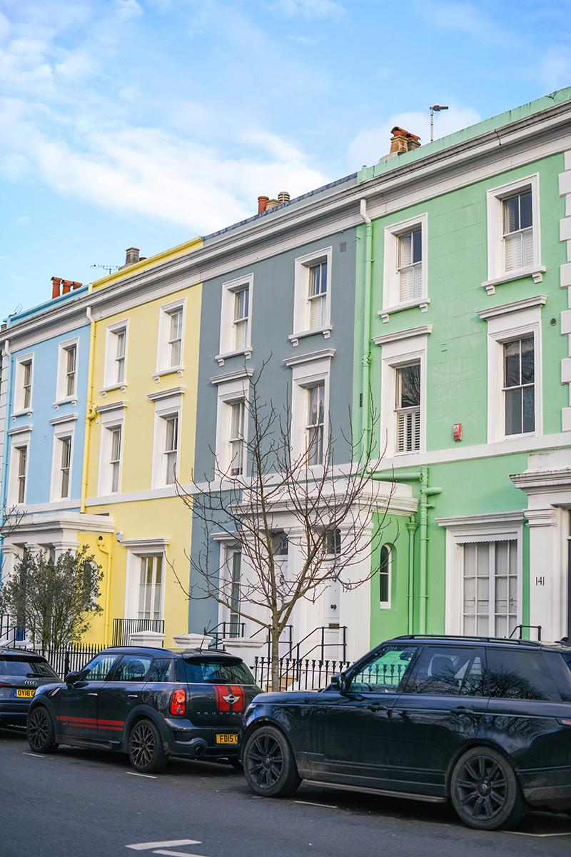 Notting Hill, London - Photo by Merritt Beck