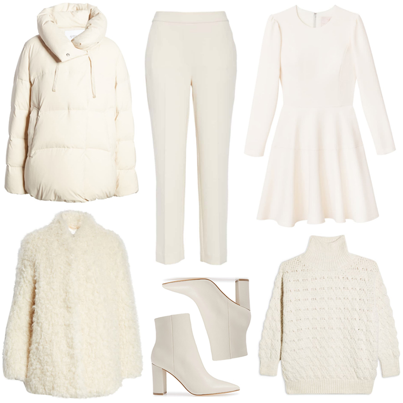 WINTER WHITE PICKS FROM NORDSTROM