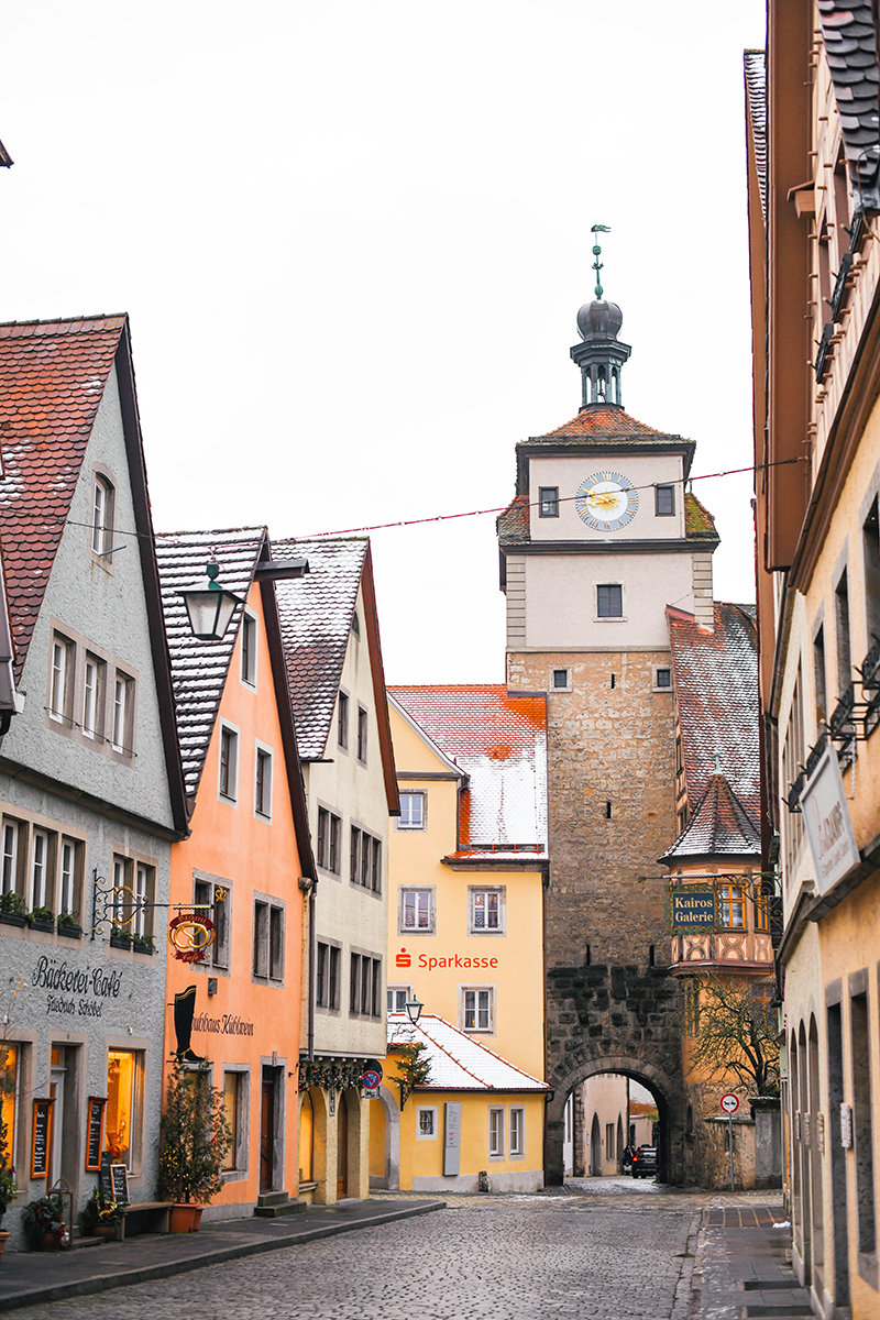 Rothenburg ob der Tauber // Germany Christmas Markets