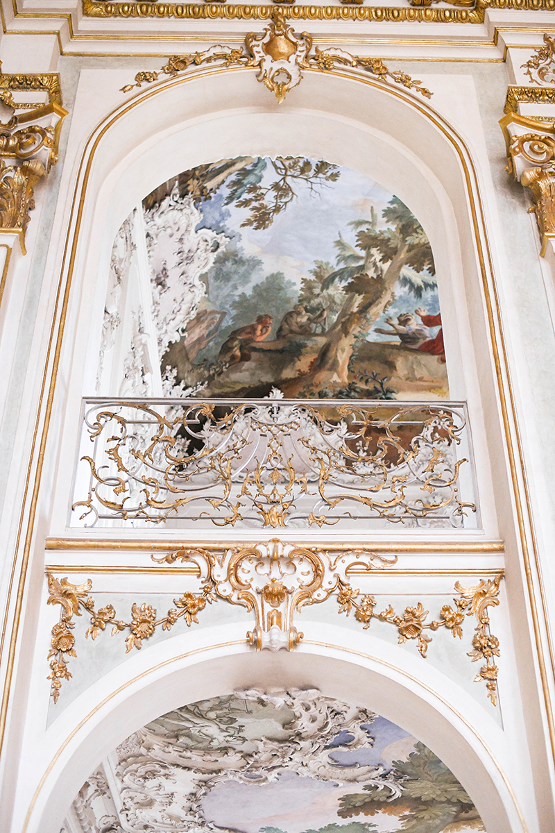 Visiting Nymphenburg Palace in Munich, Germany