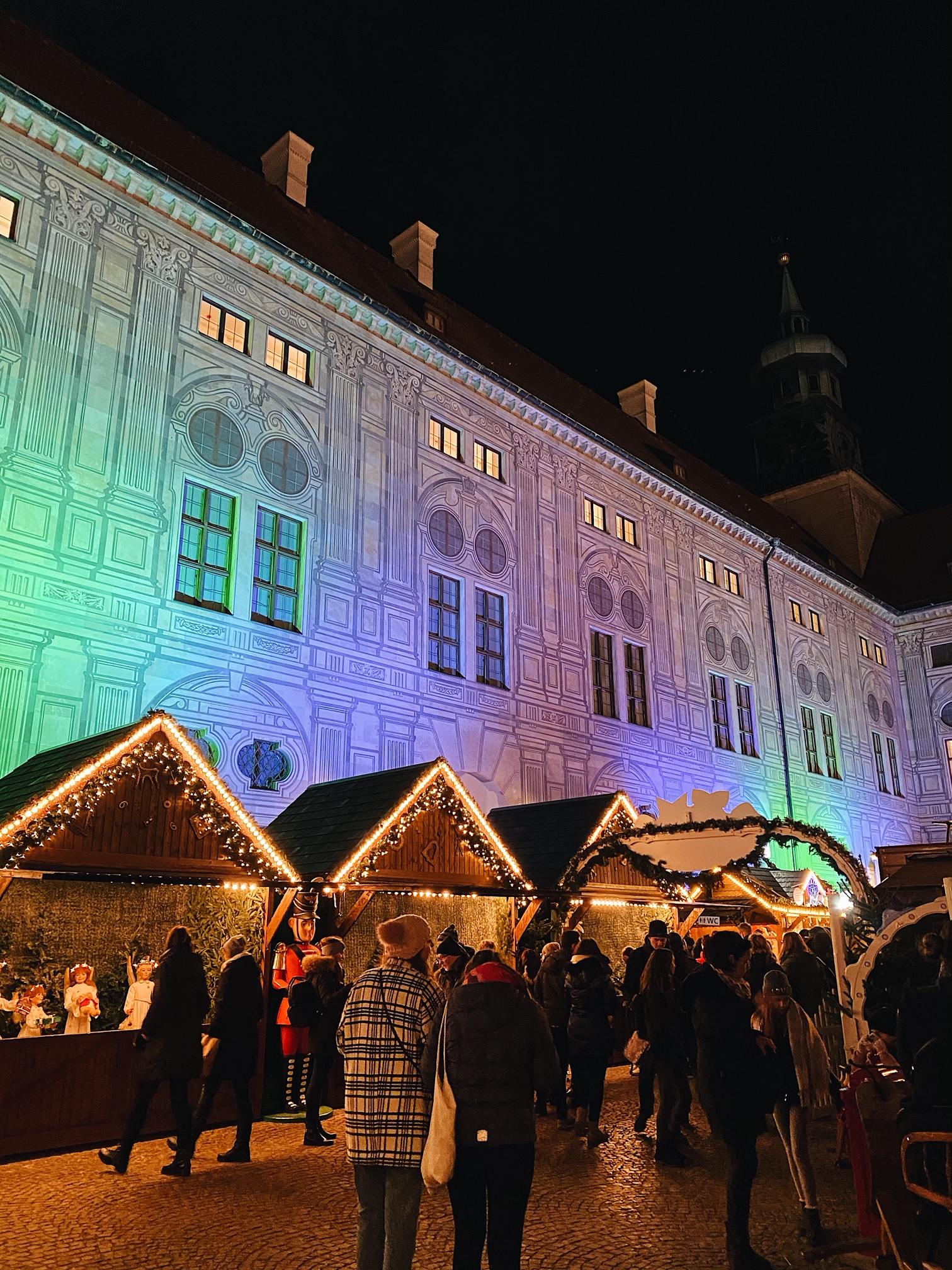 Munich Christmas Market // Emperor's Village at Munich Residenz