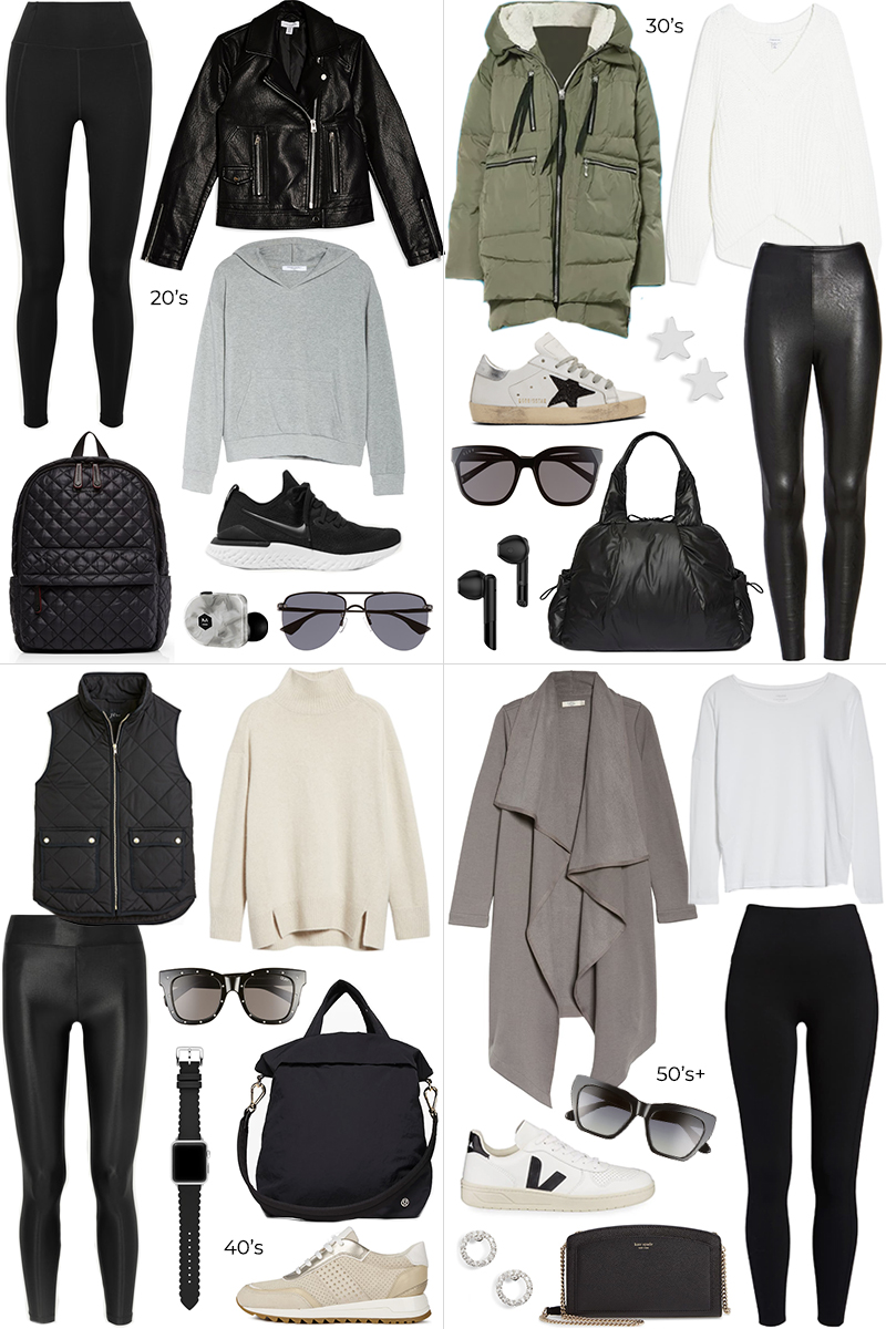 AT ANY AGE // ATHLEISURE STYLE AND OUTFITS