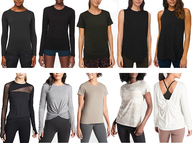 WELLNESS WEEK // BEST ACTIVEWEAR TOPS, TANKS AND TEES