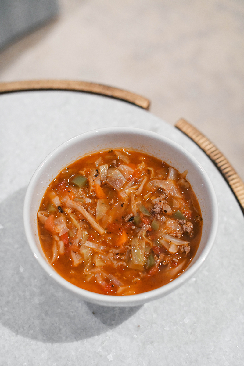 Mexican Cabbage Soup // The Defined Dish Cookbook