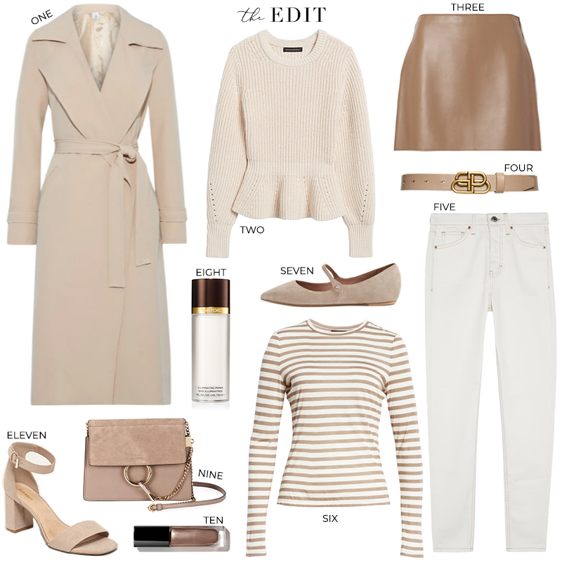 THE EDIT // IRIS & INK BELTED TRENCH COAT