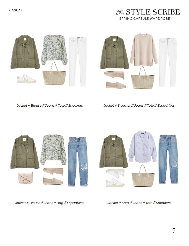 The Style Scribe Spring 2020 Capsule Wardrobe