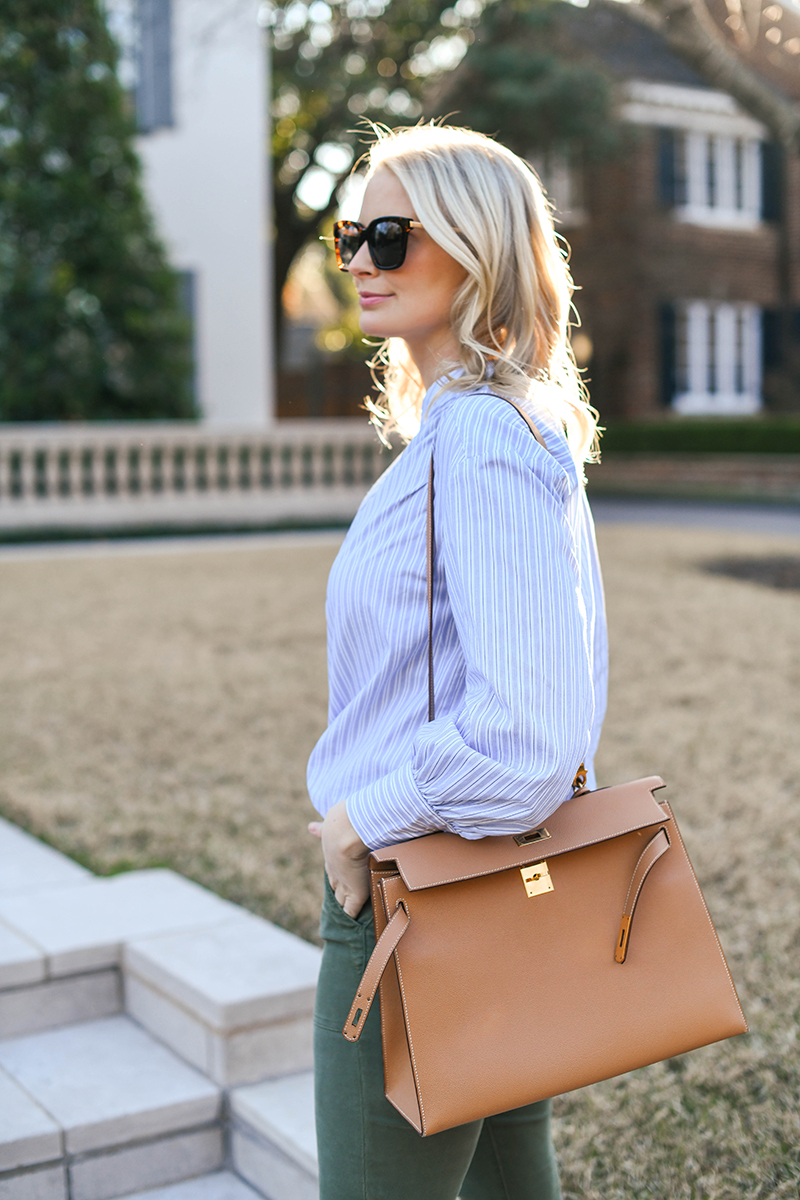 TRANSITIONAL WORK OUTFIT FOR SPRING