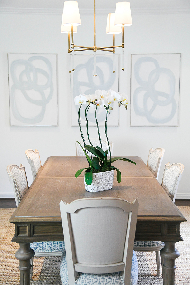 THE STYLE SCRIBE | LIVING & DINING ROOM REVEAL