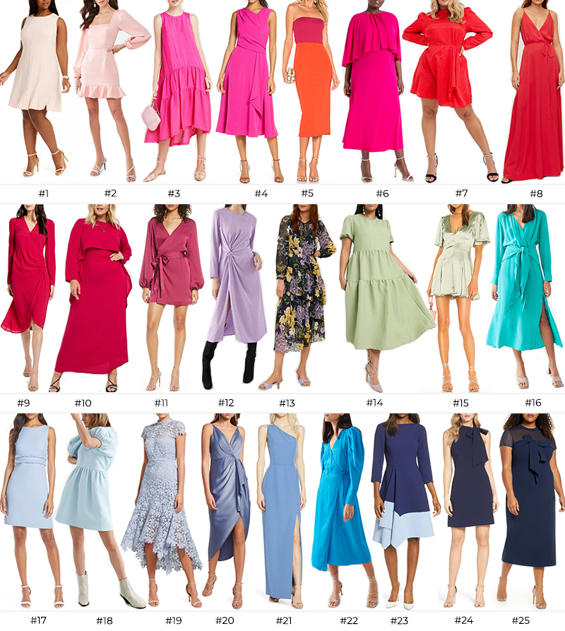 THE BEST SPRING WEDDING GUEST DRESSES  The Style Scribe