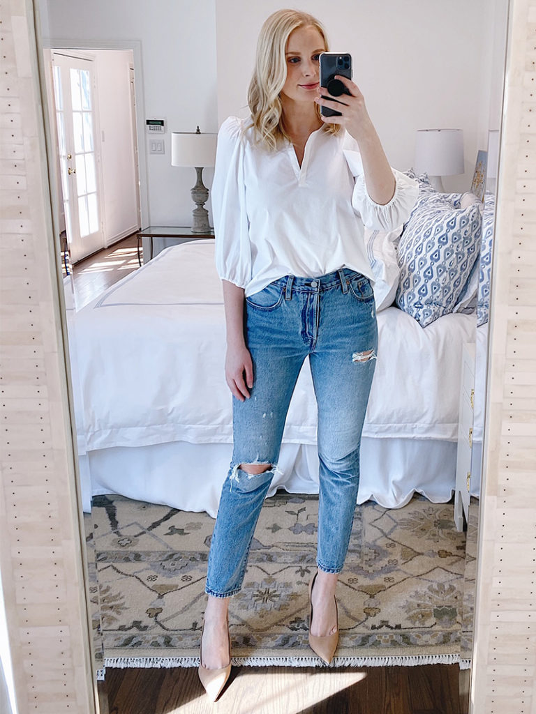 SPRING OUTFIT TRY-ON