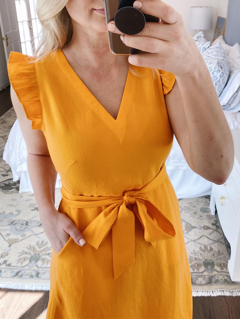 SPRING TRY-ON #2 // LOFT DRESS