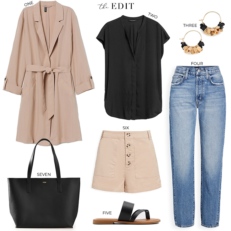 THE EDIT // H&M TRENCH + ALDO SANDALS