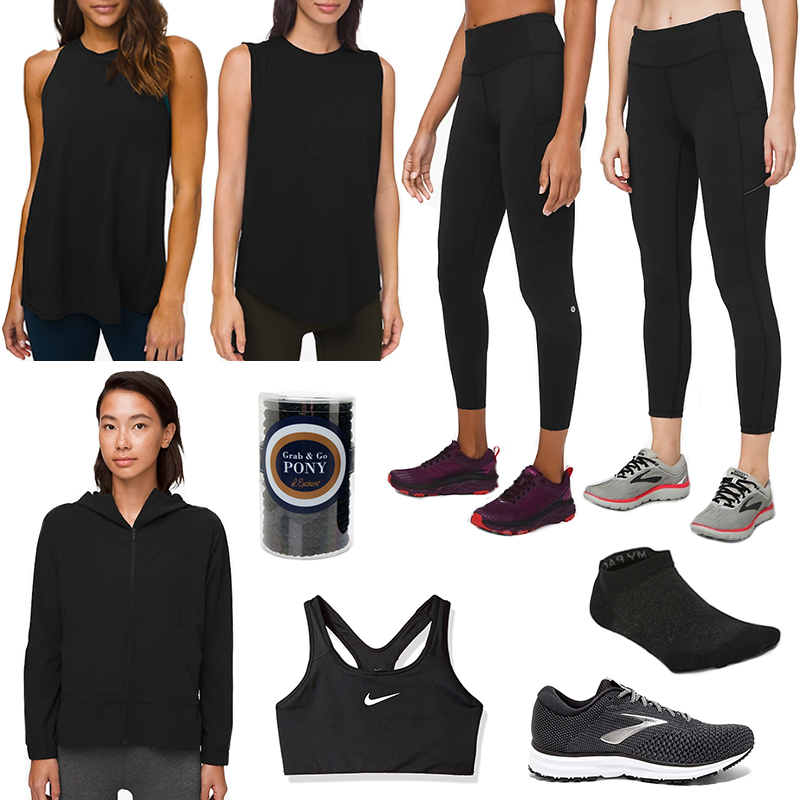 MY MOST WORN ACTIVEWEAR BASICS