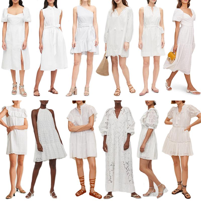 BEST WHITE DRESSES FOR SUMMER 2020