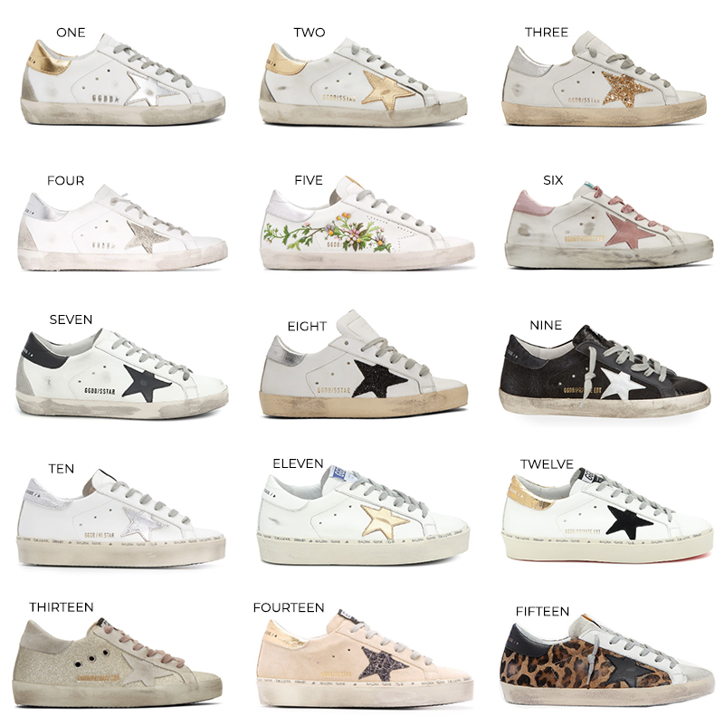 THE BEST GOLDEN GOOSE SNEAKER STYLES