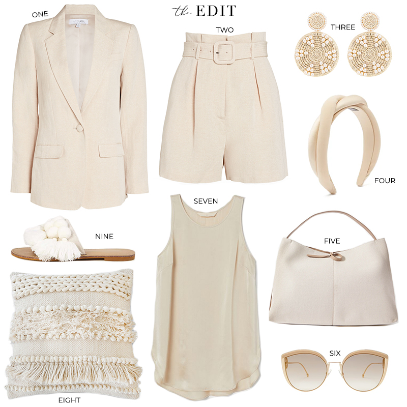 THE EDIT // INTERMIX FIONA TAILORED BLAZER + KAMRON BELTED SHORTS