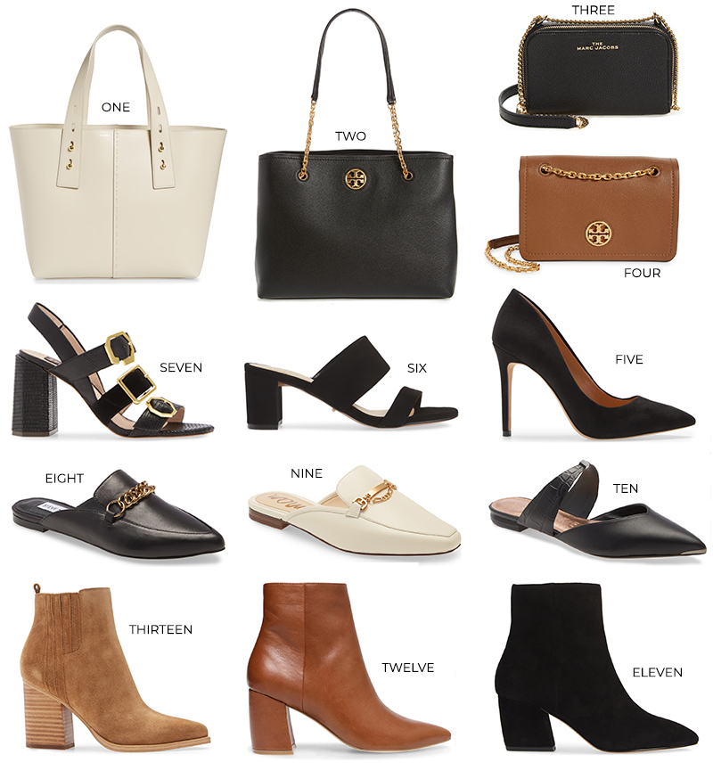 NORDSTROM ANNIVERSARY SALE 2020 // BEST SHOES AND HANDBAGS