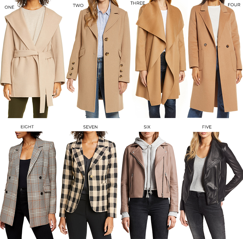 NORDSTROM ANNIVERSARY SALE COATS & JACKETS