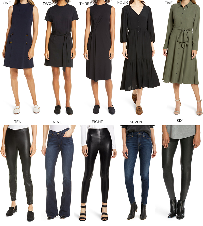NORDSTROM ANNIVERSARY SALE DRESSES AND PANTS