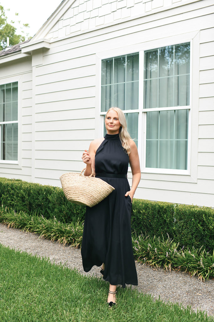ANN TAYLOR HALTER MAXI DRESS