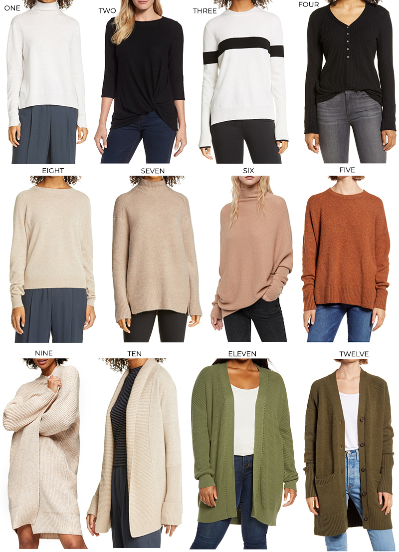 NORDSTROM ANNIVERSARY SALE SWEATERS & CARDIGANS