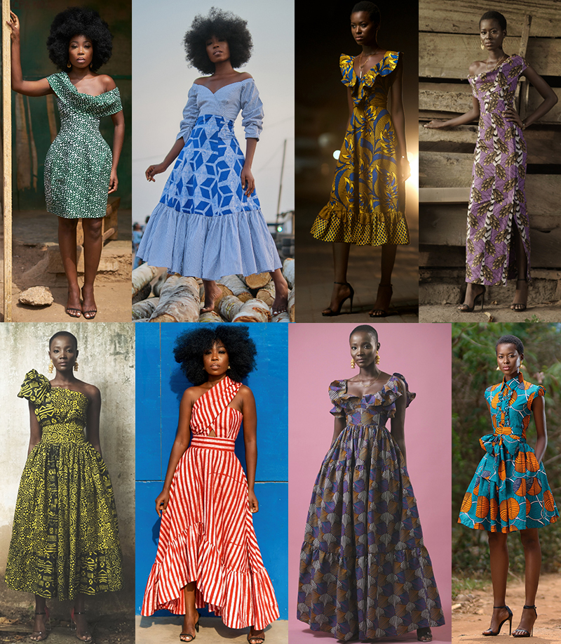 SIKA DESIGNS LONDON // DRESSES HANDMADE IN GHANA
