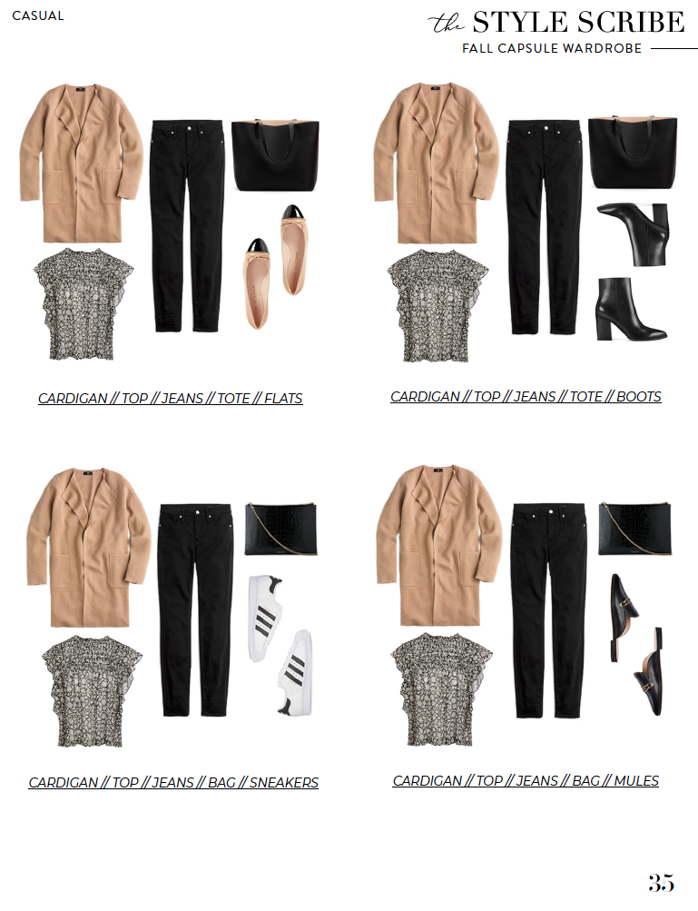 FALL 2020 CAPSULE WARDROBE // THE STYLE SCRIBE