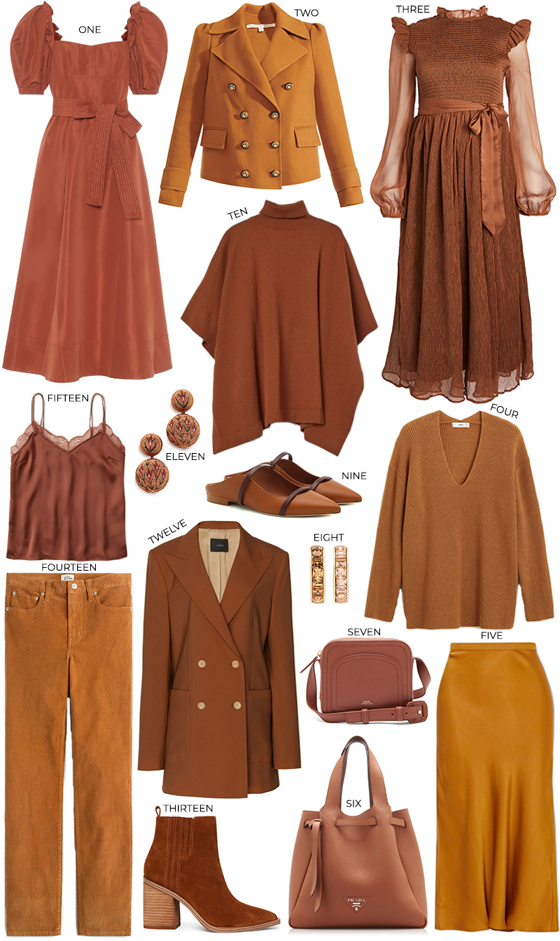 FALL COLOR PALETTE // AUTUMN INSPIRATION